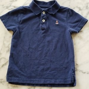 Navy Blue Polo Shirts, Size 2T